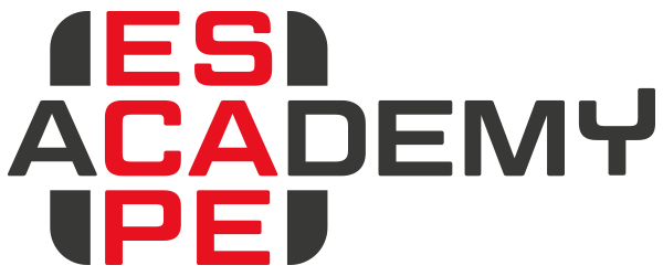 Das Logo von ESCAPE ACADEMY